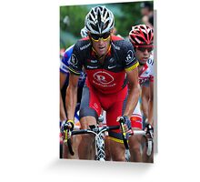 Lance Armstrong Greeting Card