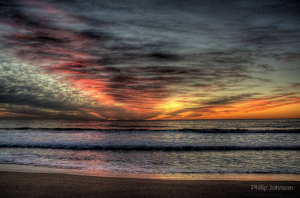 Morning Glory - Warriewood Beach, Sydney - The HDR Experience by Philip Johnson