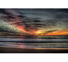 Morning Glory - Warriewood Beach, Sydney - The HDR Experience Photographic Print