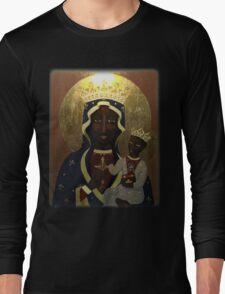 The Black Madonna Long Sleeve T-Shirt
