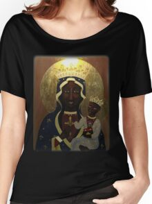 The Black Madonna Women's Relaxed Fit T-Shirt