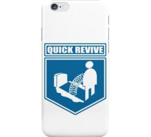 Quick Revive Emblem iPhone Case/Skin