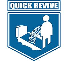 Quick Revive Emblem by freeformations