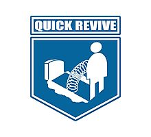 Quick Revive Emblem Photographic Print