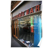 pellegrinis espresso bar. melbourne - victoria Poster