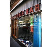 pellegrinis espresso bar. melbourne - victoria Photographic Print