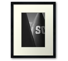 Shipping Buoy Framed Print