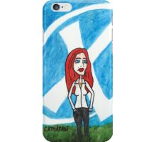 X - Marks The Scully iPhone Case/Skin