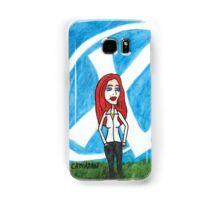 X - Marks The Scully Samsung Galaxy Case/Skin