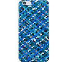 Boy Blue Pixelation iPhone Case/Skin