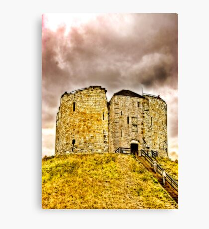 Cliffords Tower - York Canvas Print