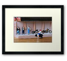 Harley completely misunderstands the purpose of the annual Sturgis Rally Framed Print