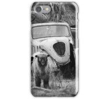 Fiat 500 Topolino 2 doors coupe 1937 iPhone Case/Skin