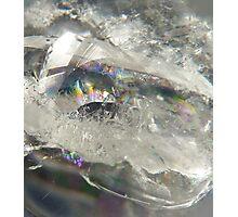 Rainbow quartz Photographic Print