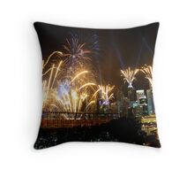 Youth Olympic Games 2010 Fireworks, Singapore Throw Pillow