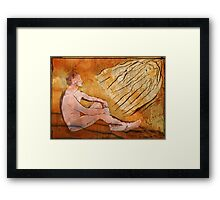His Gentle Warmth Tempers The North Wind Framed Print