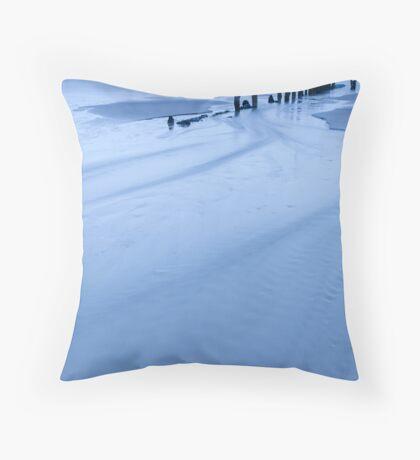 Sandsend  Throw Pillow