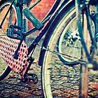 Vintage Bike by Sharonroseart