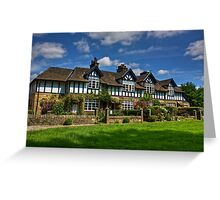 Country cottages Greeting Card