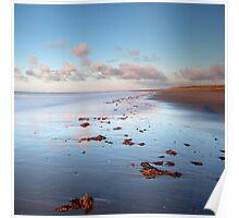 Spurn Point shoreline Poster