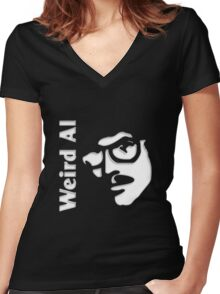 Weird Al Women's Fitted V-Neck T-Shirt