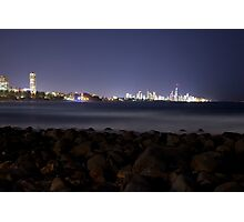 Surfers Paradise from Burleigh Photographic Print