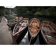 Boats, Knaresborough Photographic Print