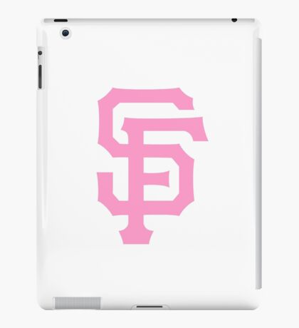 Pink SF Giants iPad Case/Skin