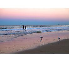''Fishing at dusk''    Surfers Paradise Photographic Print