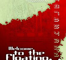 Welcome to the Floating World (poster) by Alexander Evans
