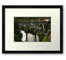 river sunset II Framed Print