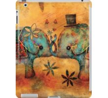 Vintage Elephants iPad Case/Skin