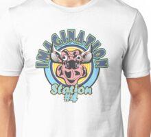 IMAGINATION Station #4 in Pink Unisex T-Shirt