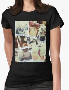polaroids Womens Fitted T-Shirt