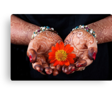The Art of Henna Painting. Canvas Print