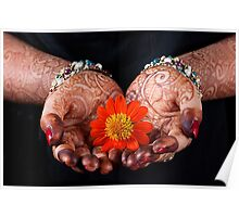 The Art of Henna Painting. Poster