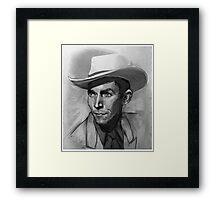 Hank  Framed Print