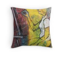 'Concentration' (Artist at Work) Throw Pillow