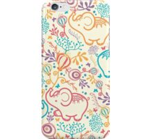 Elephants With Bouquets iPhone Case/Skin