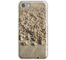 Sand Bubbles - Moreton Is. Qld Australia iPhone Case/Skin
