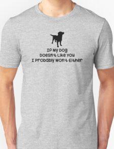 Mens Dog T-Shirt