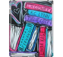 Custom Book Love iPad Case/Skin