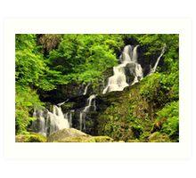 Torc waterfall. Art Print