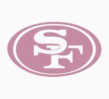 Pink San Francisco 49ers by rosiestelling