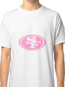 Pink San Francisco 49ers Classic T-Shirt