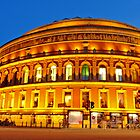 London Royal Albert Hall in  blue hour by DavidGutierrez