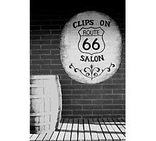 Route 66 sign - Williams, Arizona Photographic Print