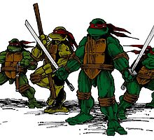 Teenage Mutant Ninja Turtles by SpoilersCo