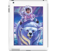Polar Bear Bus iPad Case/Skin