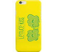 Lettuce Kiss iPhone Case/Skin